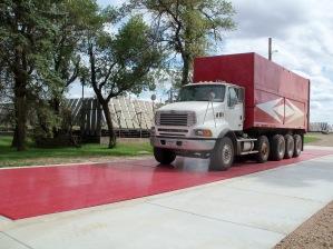 Rice Lake OTR 80x14 Steel Deck Pit Truck Scale Earl Tusa&Son's 013